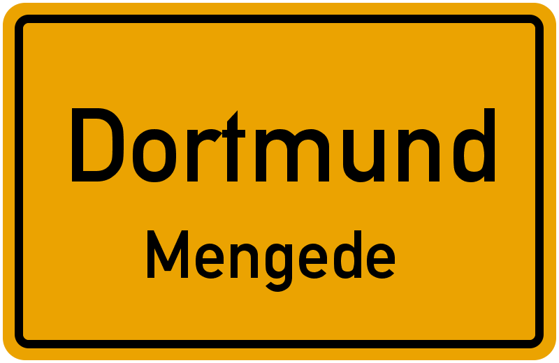 Ortsschild Dortmund