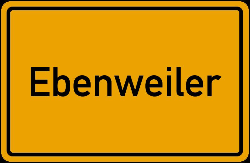 onlinestreet Branchenbuch für Ebenweiler