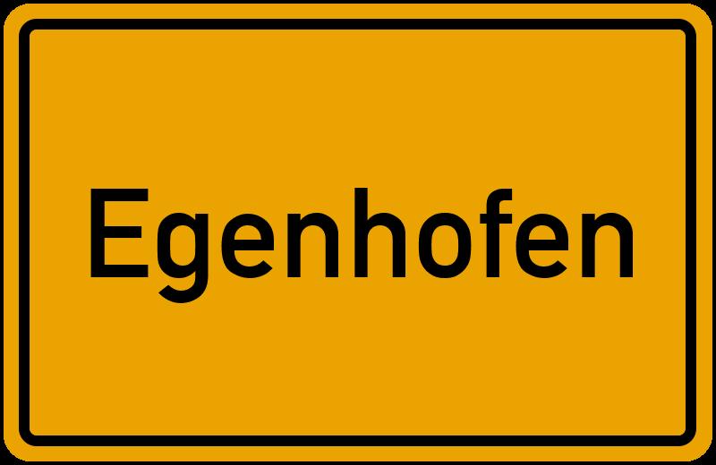onlinestreet Branchenbuch für Egenhofen