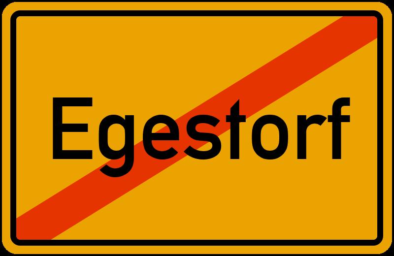 Ortsschild Egestorf