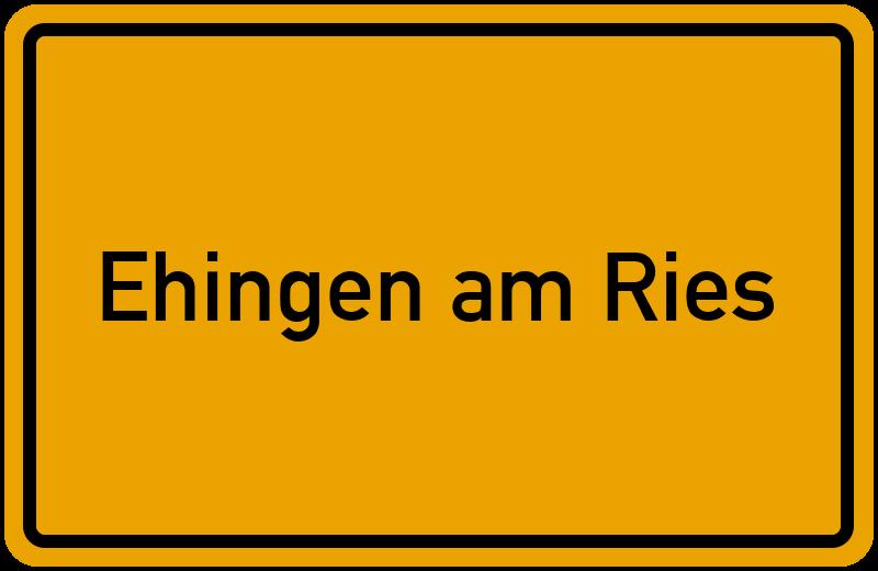 onlinestreet Branchenbuch für Ehingen am Ries