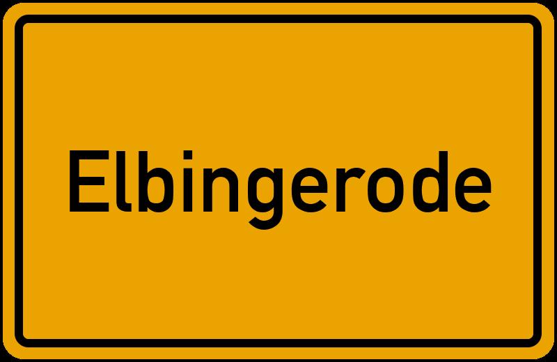 onlinestreet Branchenbuch für Elbingerode