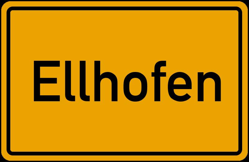 onlinestreet Branchenbuch für Ellhofen