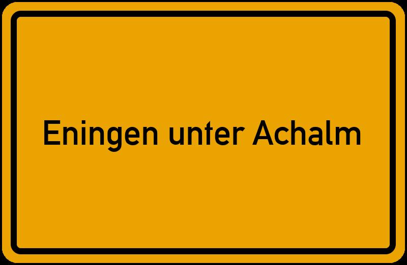 onlinestreet Branchenbuch für Eningen unter Achalm