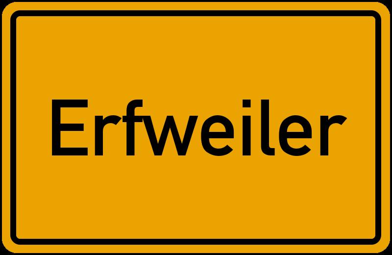 onlinestreet Branchenbuch für Erfweiler