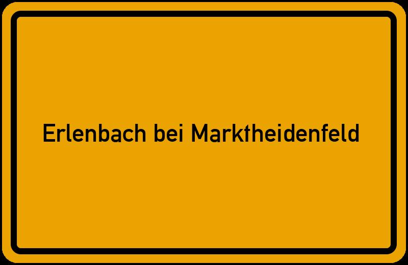 onlinestreet Branchenbuch für Erlenbach bei Marktheidenfeld