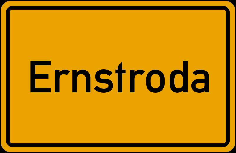 onlinestreet Branchenbuch für Ernstroda