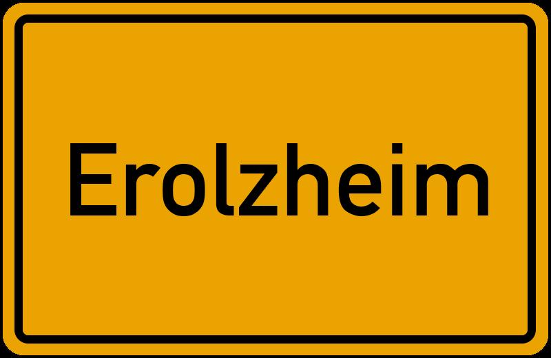onlinestreet Branchenbuch für Erolzheim
