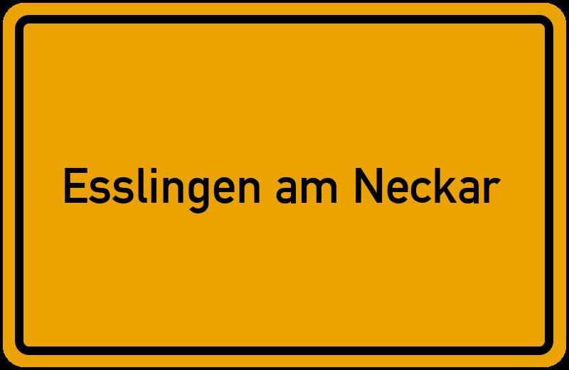 onlinestreet Branchenbuch für Esslingen am Neckar