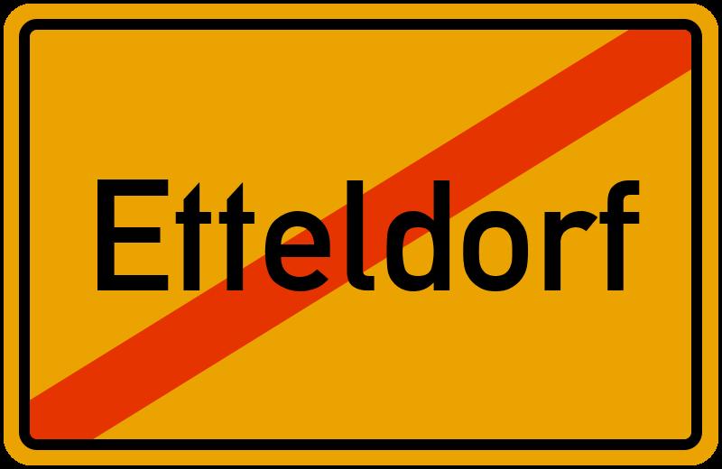 Ortsschild Etteldorf
