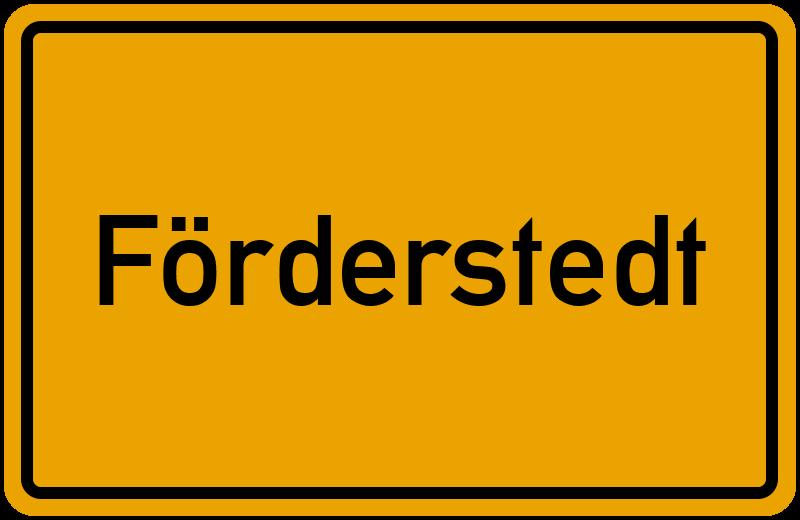 onlinestreet Branchenbuch für Förderstedt