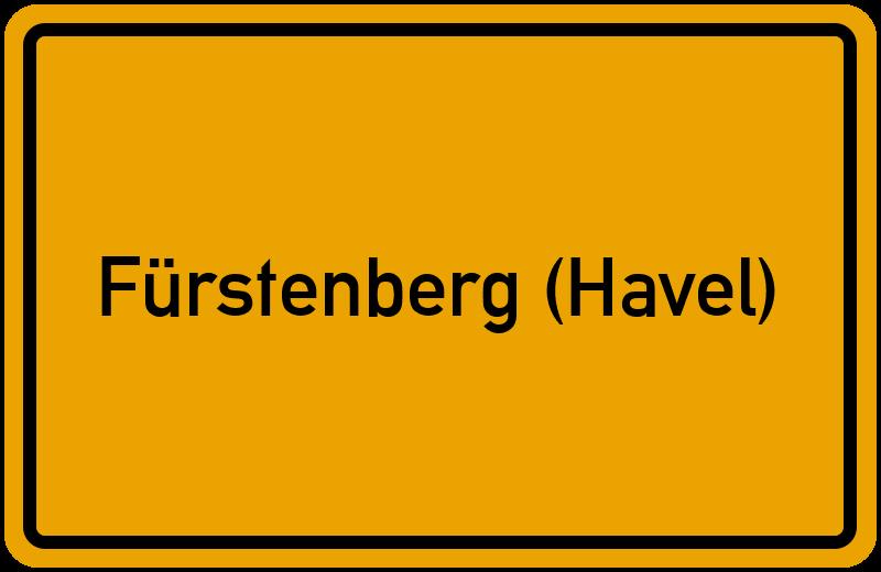 onlinestreet Branchenbuch für Fürstenberg (Havel)
