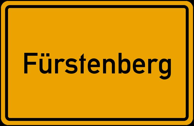 onlinestreet Branchenbuch für Fürstenberg