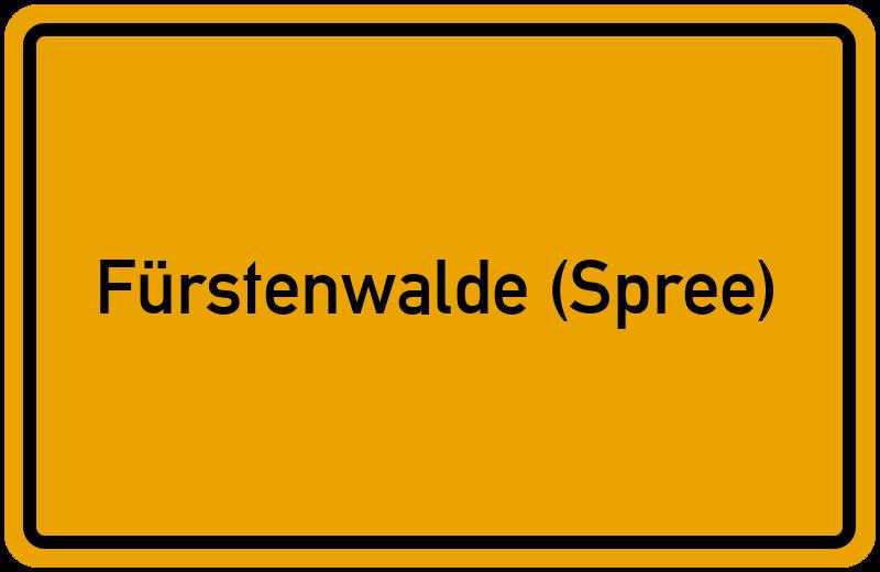onlinestreet Branchenbuch für Fürstenwalde (Spree)