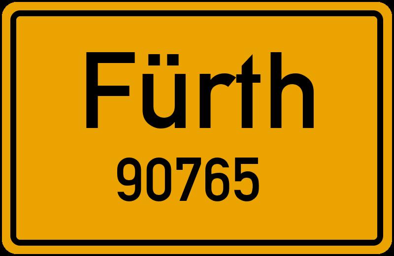 90765 Fürth Straßenverzeichnis: Alle Straßen in 90765