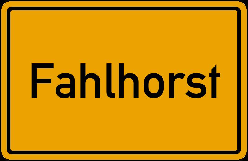 onlinestreet Branchenbuch für Fahlhorst