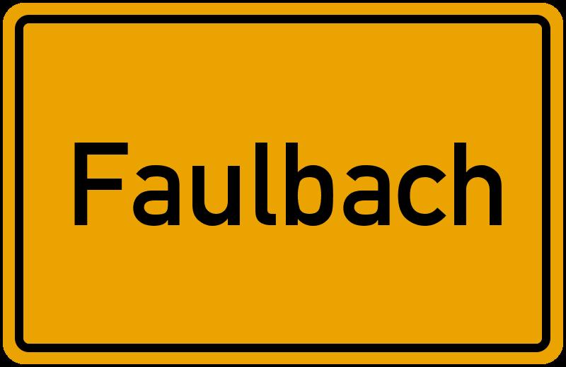 onlinestreet Branchenbuch für Faulbach
