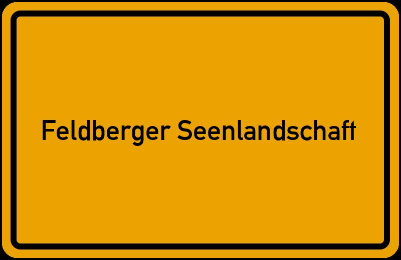 onlinestreet Branchenbuch für Feldberger Seenlandschaft