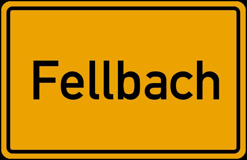 Wo Liegt Fellbach Lageplan Fellbach Baden Wurttemberg