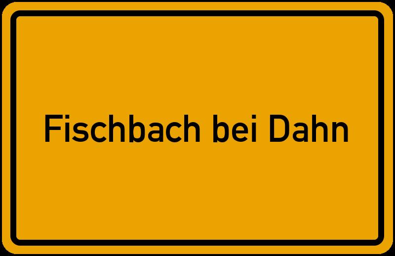onlinestreet Branchenbuch für Fischbach bei Dahn