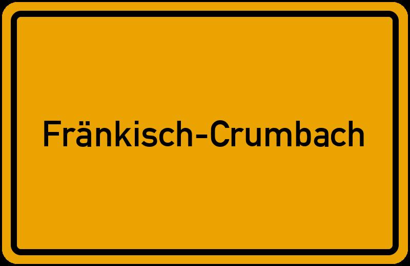 onlinestreet Branchenbuch für Fränkisch-Crumbach