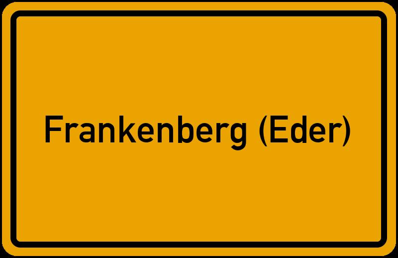 onlinestreet Branchenbuch für Frankenberg (Eder)