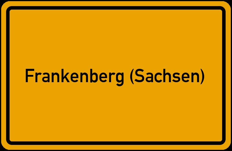 onlinestreet Branchenbuch für Frankenberg (Sachsen)