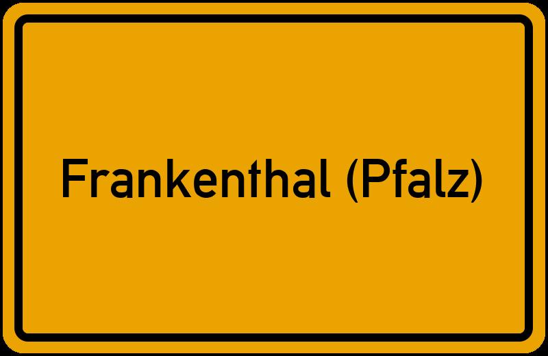 onlinestreet Branchenbuch für Frankenthal (Pfalz)