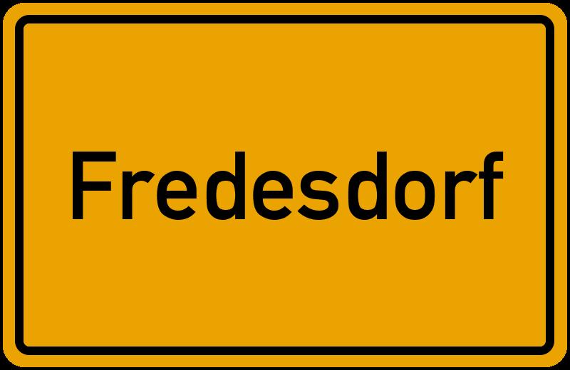 onlinestreet Branchenbuch für Fredesdorf