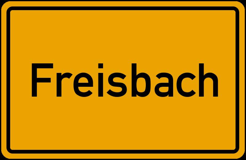 onlinestreet Branchenbuch für Freisbach