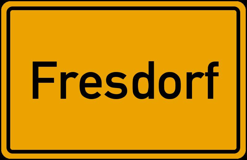 onlinestreet Branchenbuch für Fresdorf