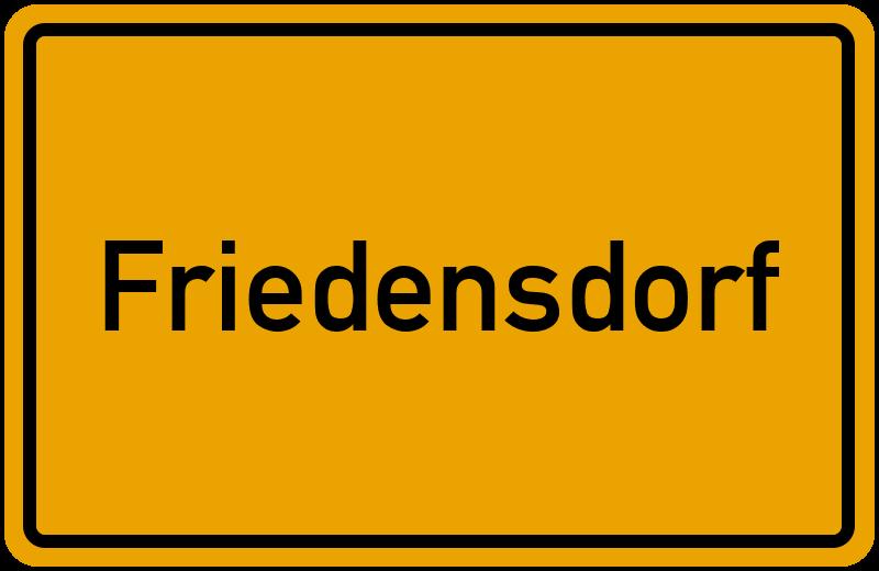 onlinestreet Branchenbuch für Friedensdorf