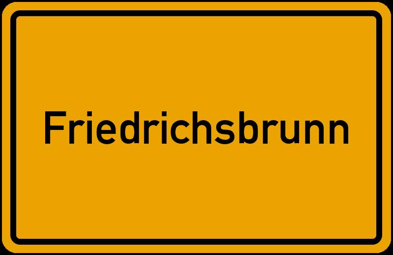 onlinestreet Branchenbuch für Friedrichsbrunn