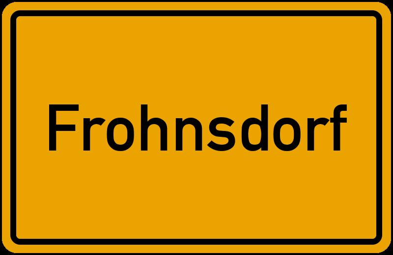 onlinestreet Branchenbuch für Frohnsdorf