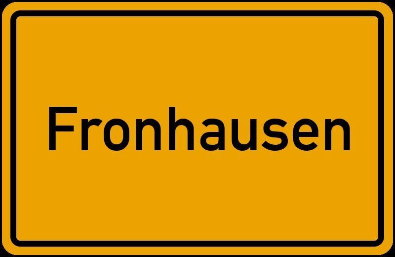 onlinestreet Branchenbuch für Fronhausen