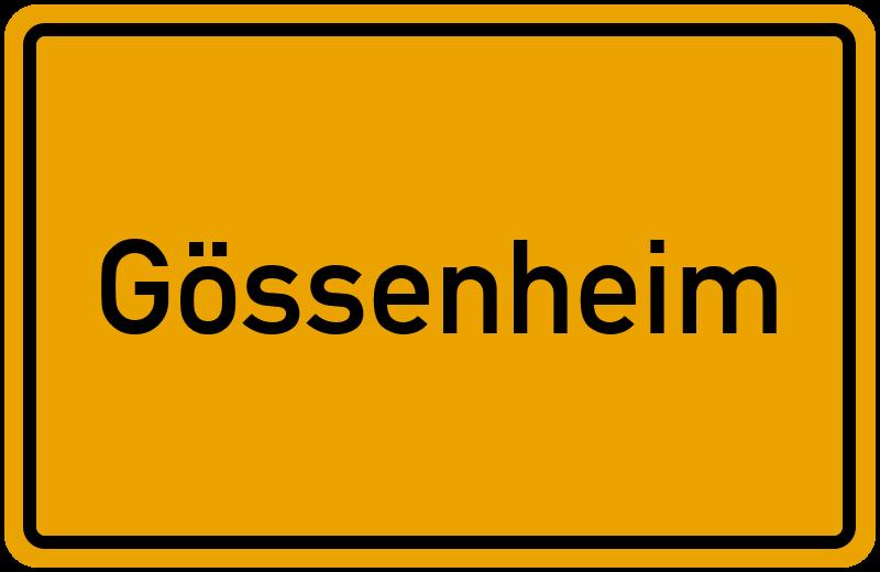 onlinestreet Branchenbuch für Gössenheim