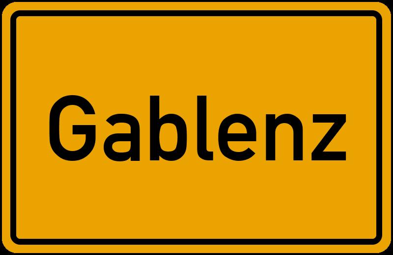 onlinestreet Branchenbuch für Gablenz