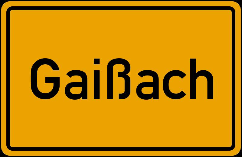 onlinestreet Branchenbuch für Gaißach