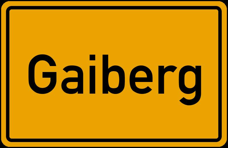 onlinestreet Branchenbuch für Gaiberg