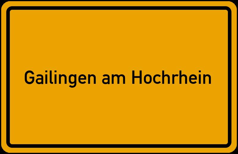 onlinestreet Branchenbuch für Gailingen am Hochrhein