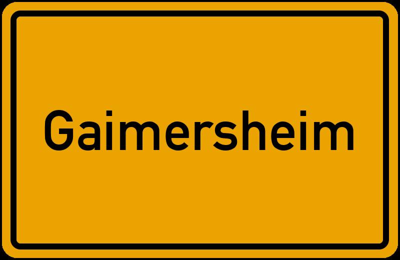 onlinestreet Branchenbuch für Gaimersheim