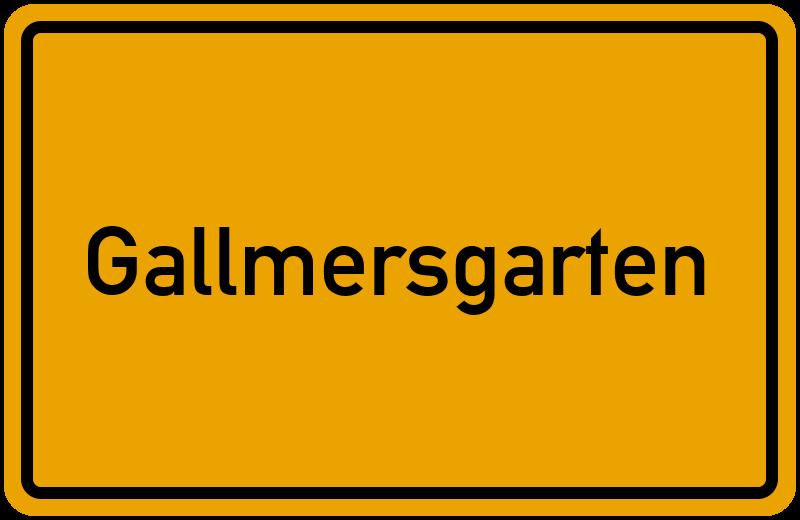 onlinestreet Branchenbuch für Gallmersgarten
