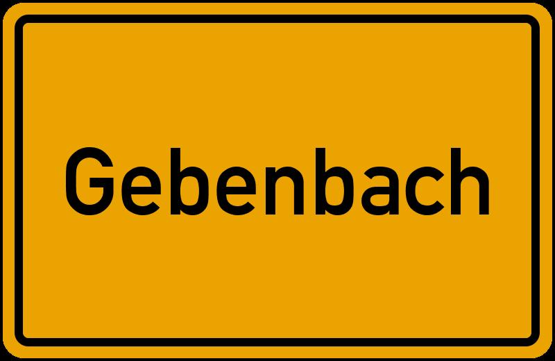 onlinestreet Branchenbuch für Gebenbach