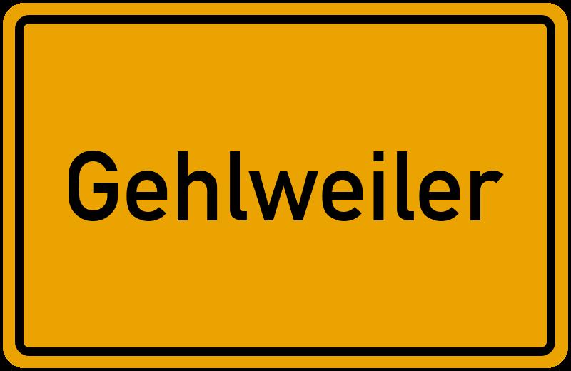 onlinestreet Branchenbuch für Gehlweiler