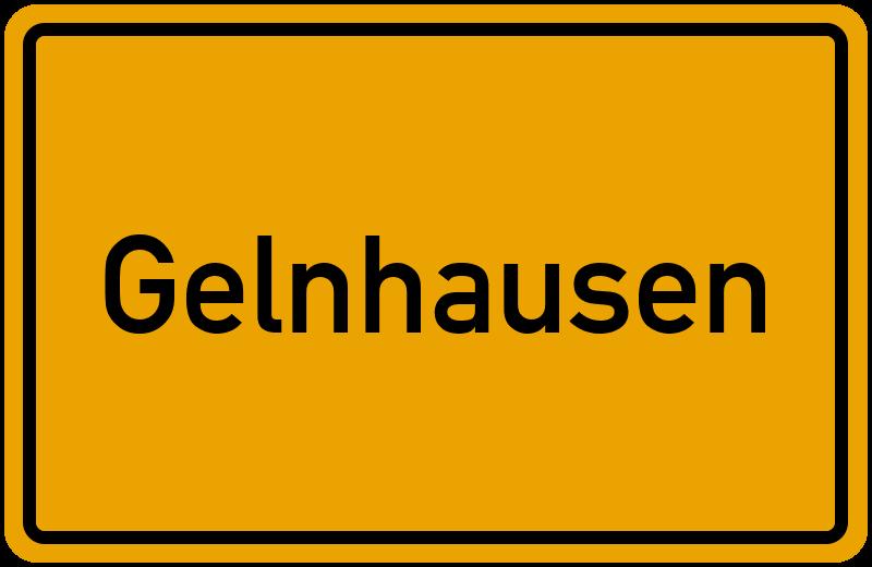 Ortsschild Gelnhausen