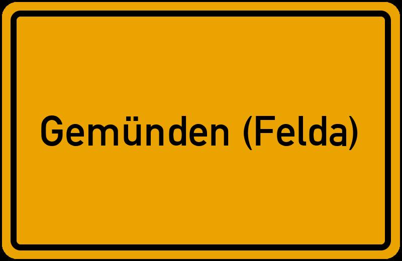 onlinestreet Branchenbuch für Gemünden (Felda)