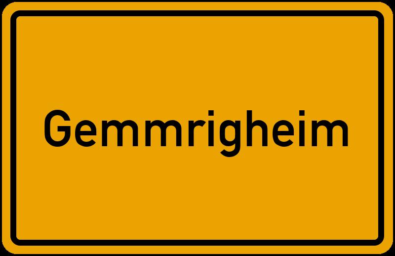onlinestreet Branchenbuch für Gemmrigheim