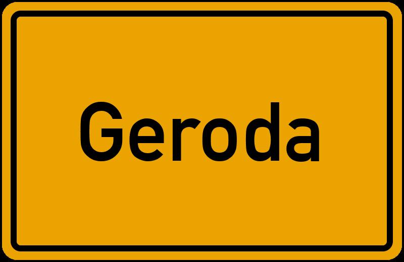 onlinestreet Branchenbuch für Geroda