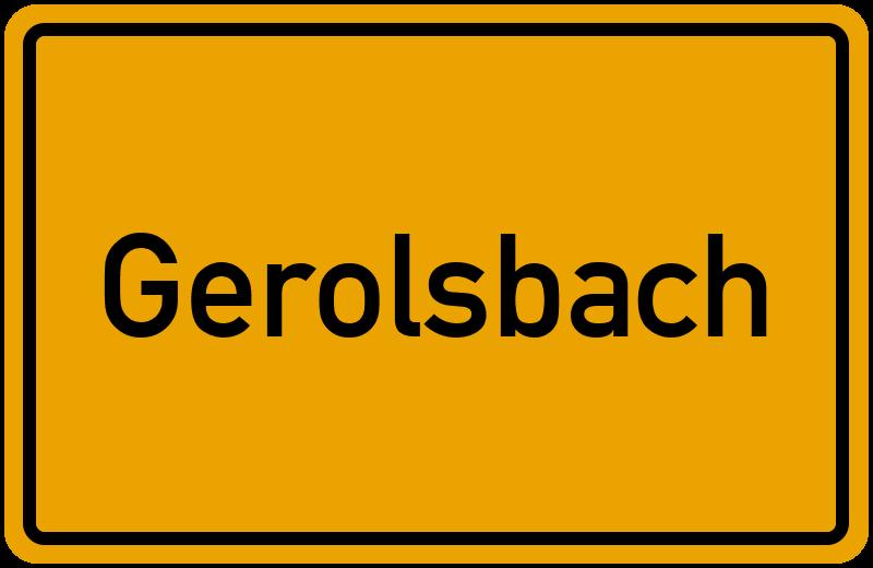 onlinestreet Branchenbuch für Gerolsbach