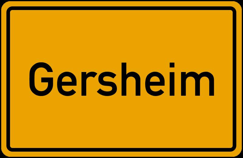 onlinestreet Branchenbuch für Gersheim